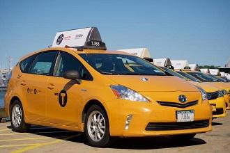Компания Toyota представила новую модель такси