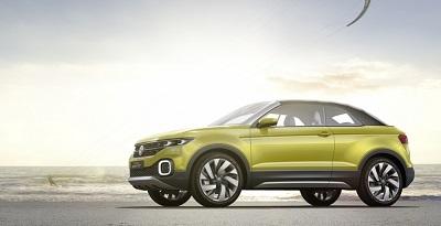 Volkswagen приступил к испытаниям нового маленького кроссовера