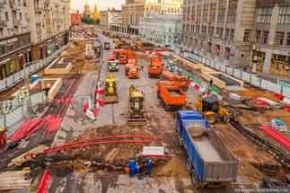 Стало известно, какие улицы летом перекопают в Москве