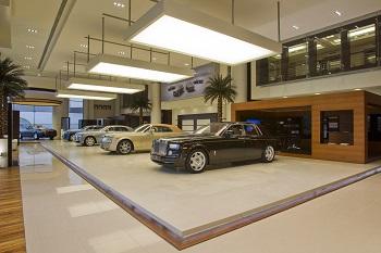 В Москве открылся первый в Европе салон подержанных Rolls-Royce