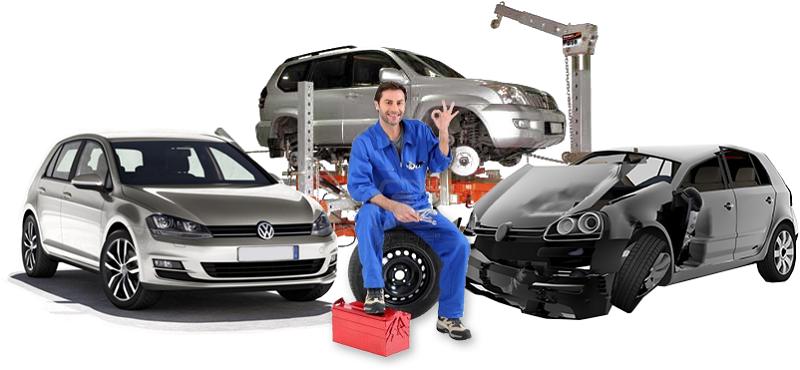 Услуги покраски автомобиля и кузовного ремонта в Москве